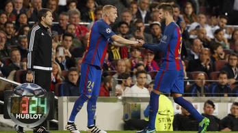 Az év leglényegtelenebb meccsén dőlt ki az újabb Barca-védő