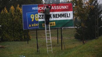 Ab: Nem politikai a kvótanépszavazásos reklám