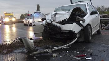 Halálos baleset történt az M5-ösön Kecskemétnél
