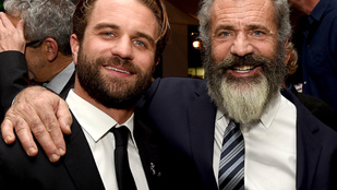 Mel Gibson fia az apja tökéletes másolata