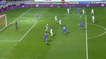 Nem létezik, a mellőzött Real-védő is ekkora gólt tud?