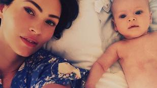 Megan Fox megmutatta a legkisebb kisfiát