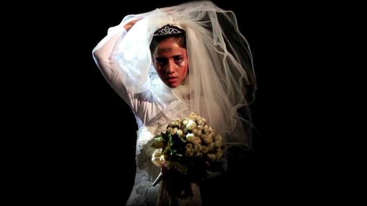 Jelenet a Sonita című, egy rappelni akaró iráni lányról szóló filmből