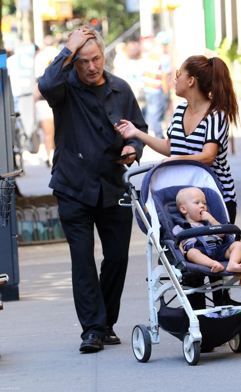 Alec Baldwinnek már 4 gyereke van