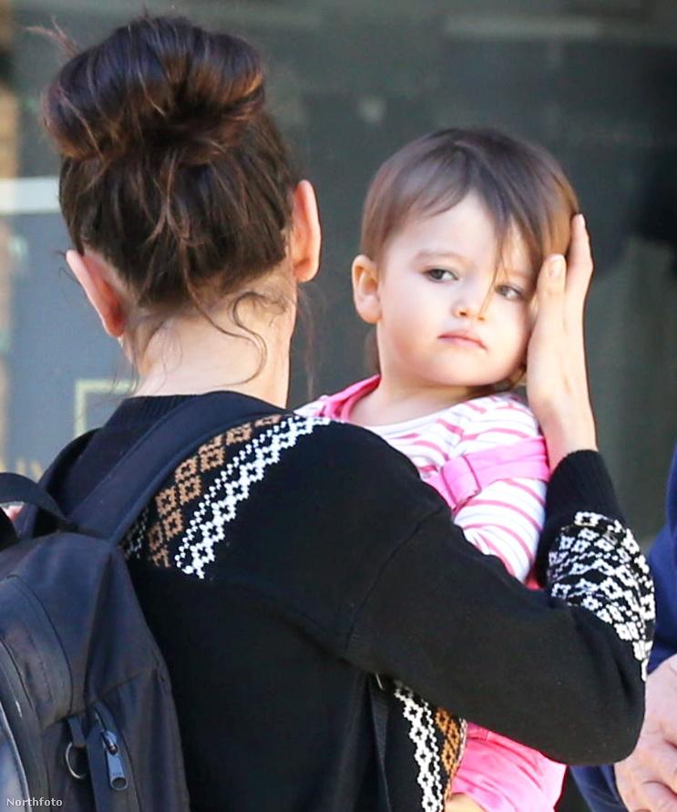 Például ott van Ashton Kutcher és Mila Kunis kislánya, Wyatt.