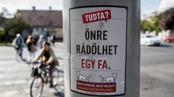 34,5 milliót költött plakátokra a Kétfarkú Kutya Párt