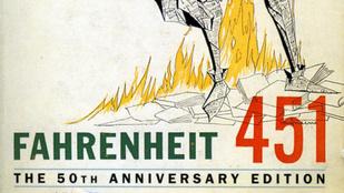 Irónia level 1000: engedély kell a Fahrenheit 451 elolvasásához
