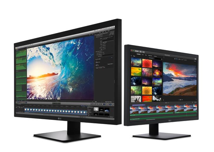 Az LG Ultrafine 5K és 4K monitorok.