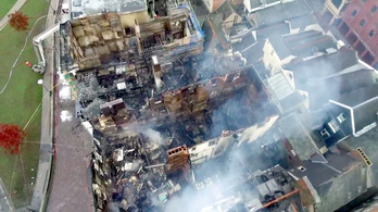 Leégett Anglia legidősebb szállodája