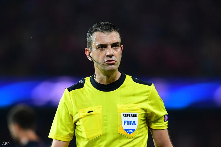 Kassai Viktor volt a Paris-Saint-Germain - Arsenal bírója is szeptember 13-án.