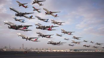 Már megint drón miatt áll a dubaji reptér