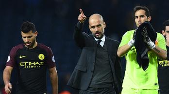 Guardiola visszavágott, bombagólok: őrült est a BL-ben