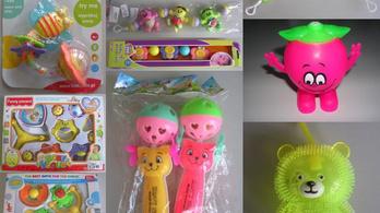 Tucatnyi fulladásveszélyes gyermekjátékot talált az NFH