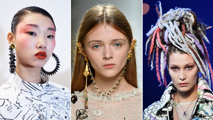 Szépségtrendek 2017-re: zsíros haj és erős rúzs