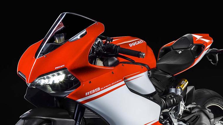 Az előd: Ducati 1199 Superleggera