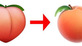 Kihalóban a baracksegg formájú emoji :'(