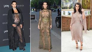 5 szóval leírható Kim Kardashian stílusa