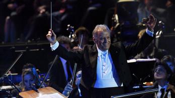 Megbetegedett Zubin Mehta, elmarad a koncertje