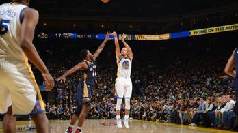 Curry lenyomta Kobe Bryantet is: ő az új triplakirály