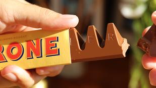 Bréking: ezentúl a Toblerone is szarabb