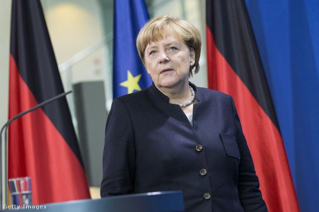 Angela Merkel, Németország kancellára.