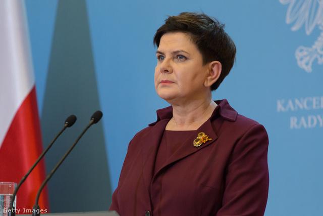 Beata Szydło, Lengyelország, miniszterelnöke.