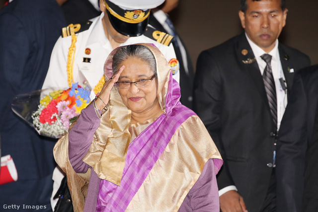 Sheikh Hasina, Banglades miniszterelnöke.