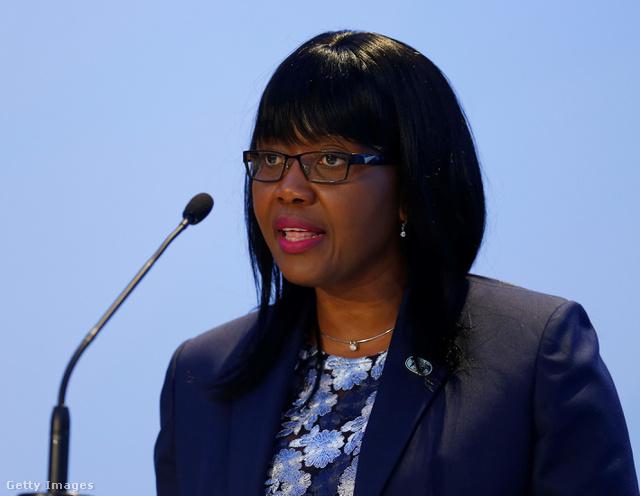 Saara Kuugongelwa, Namíbia miniszterelnöke.