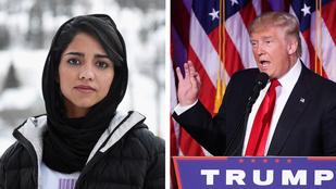 Ami ellen Sonita harcol, az maga Donald Trump