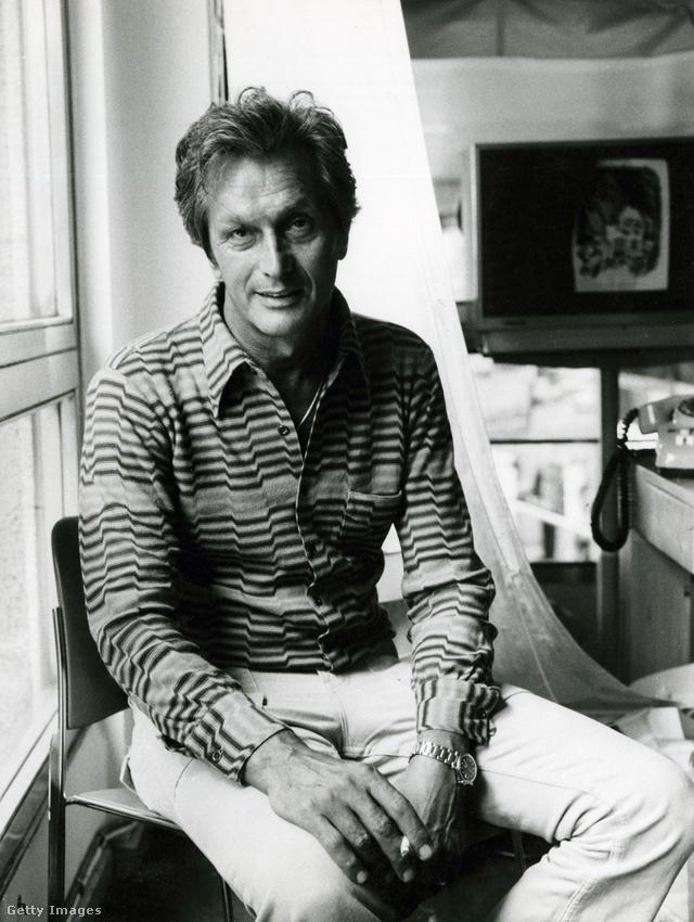 Ottavio Missoni 1974-ben.