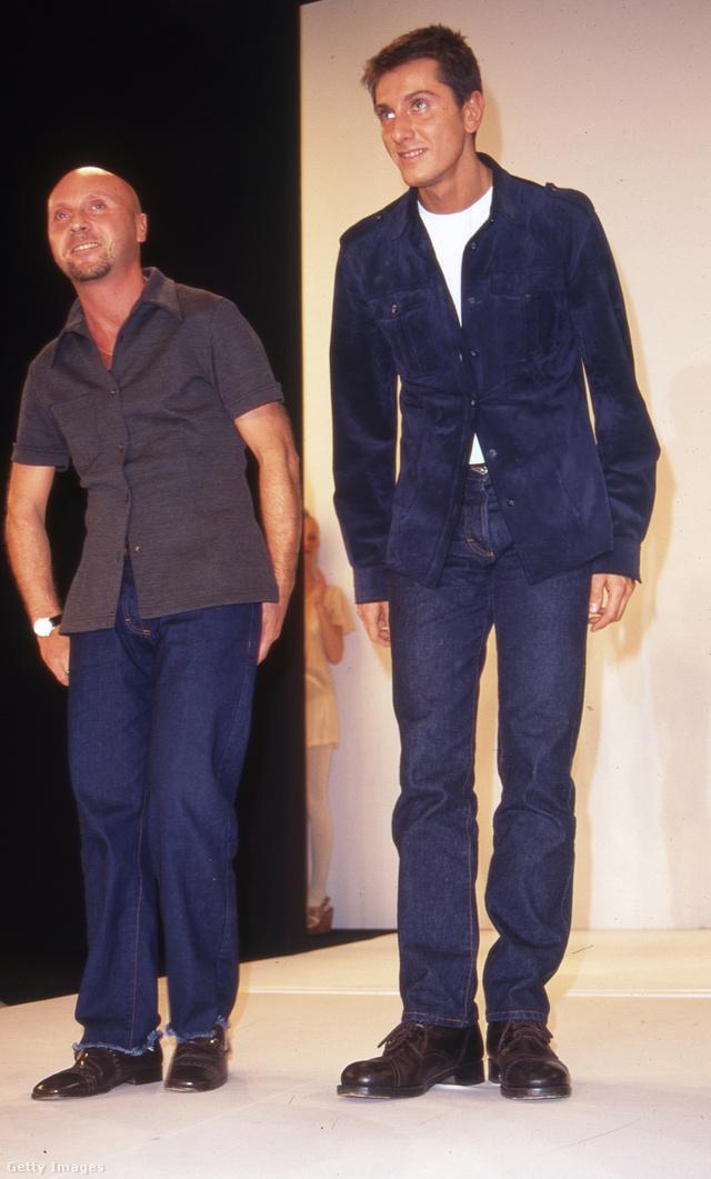 Domenico Dolce és Stefano Gabbana 1993-ban New Yorkban.