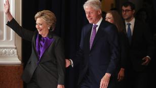 Ezért viselt Hillary Clinton lilát