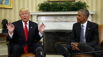 Trump hazudott: nem hallgatták le Obamáék
