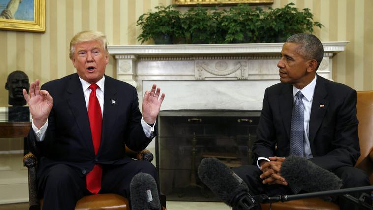 Nem hallgatták le Trumpot Obamáék
