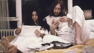 50 éve találkozott először Yoko Ono és John Lennon