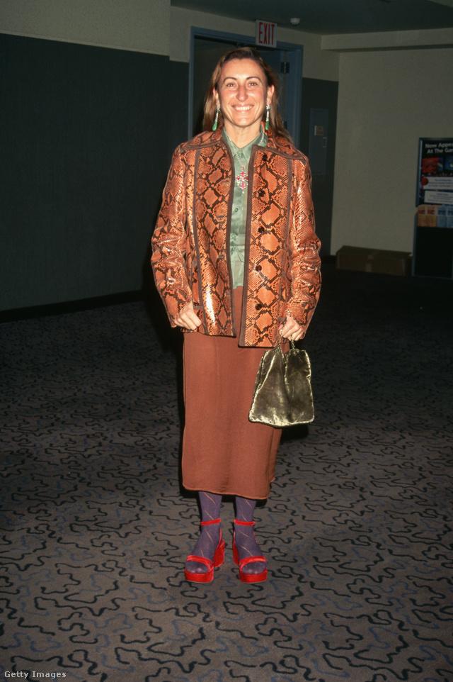 Miuccia Prada a VH1 díjátadóján.