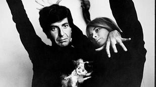 Leonard Cohen elment a múzsája után