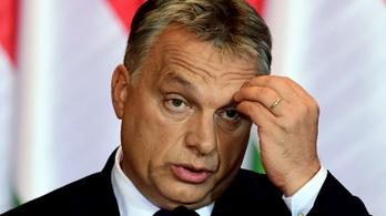 Bezuhant Orbán népszerűsége