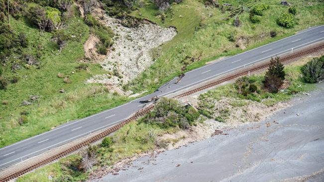 Erős utórengés volt Új-Zélandon