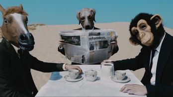 Különös állatemberek teázgatnak a magyar sivatagban