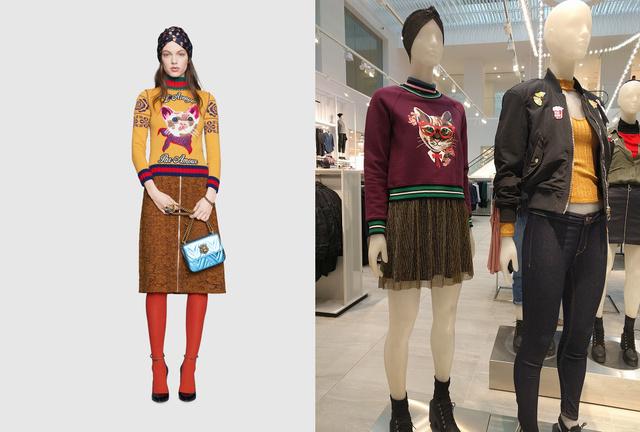 Gucci lookbook vs H&M próbababa: még a turbán is stimmel!