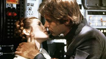 Összejött Harrison Ford és Carrie Fisher a Star Wars forgatásán