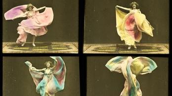 Pszichedelikus táncfilm a századfordulóról