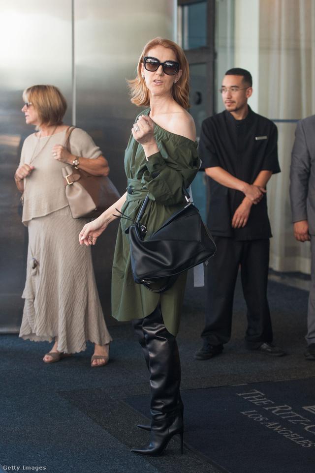 A 48 éves Celine Dion az elmúlt évben esett át egy komolyabb stílusváltáson.
