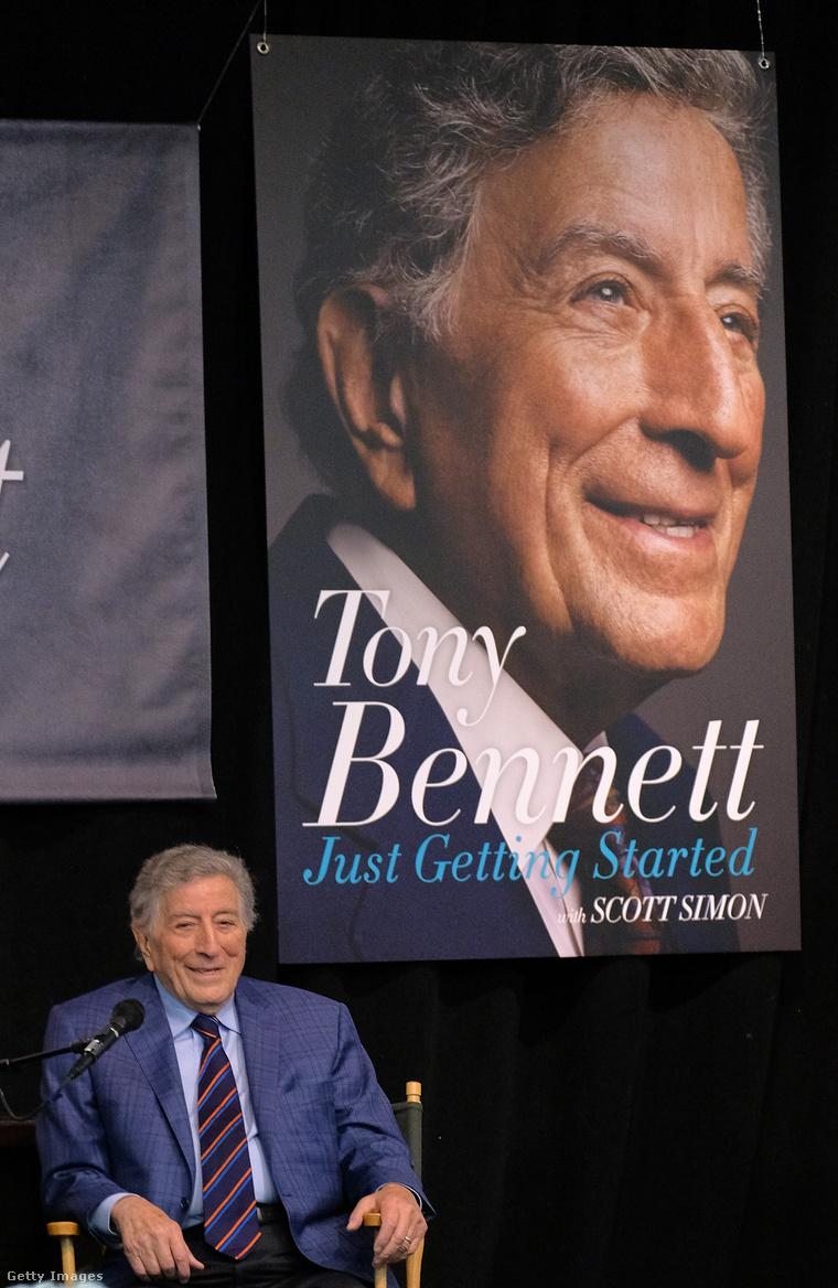 Tony Bennett és új könyve