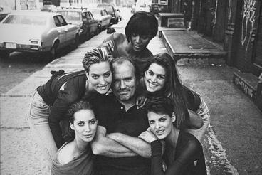 Naomi Campbell, Linda Evangelista, Tatjana Patitz, Christy Turlington és Cindy Crawford, New York, 1990