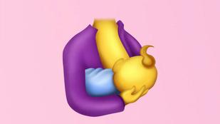 2017-ben már lesz szoptatós emoji