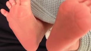 Instahíradó: Liptai Claudia megmutatta a kisfia lábát, Cinthya Dictator tangában pózolt