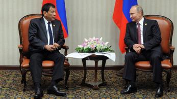 A Fülöp-szigetek örömmel zuhan Putyin karjaiba