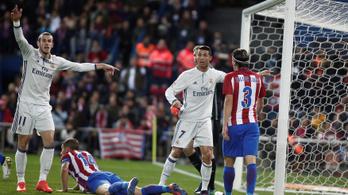 Négyet lőtt C. Ronaldo az Atléticónak?